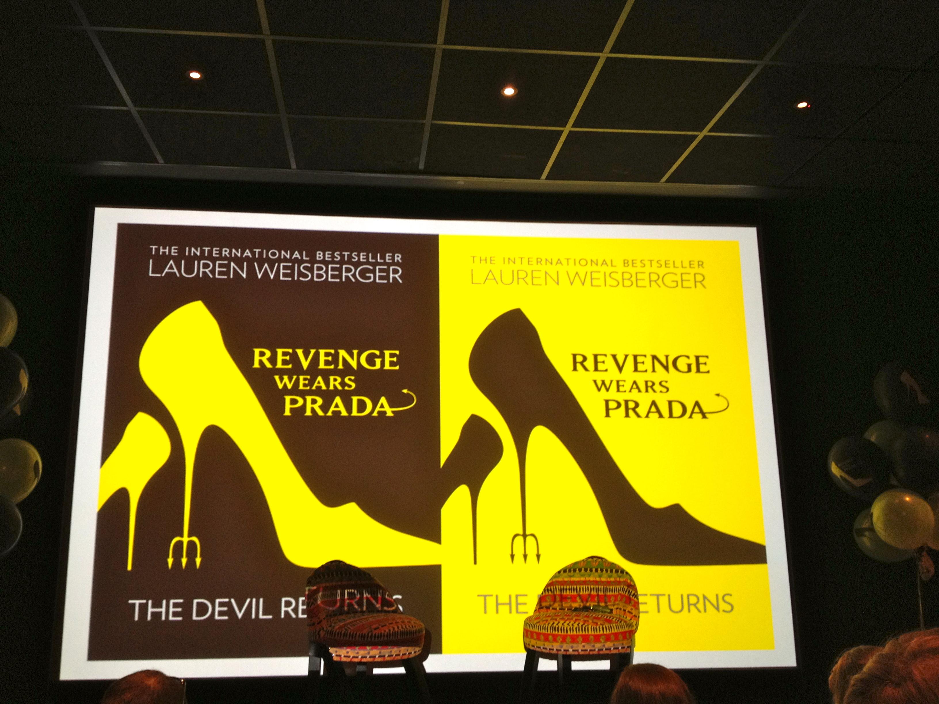 Lauren Weisberger launches Revenge Wears Prada | Emma Lee-Potter